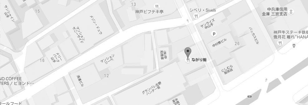 ながり鮨地図